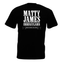 Matty James & The Irregulars T-shirt (Black)