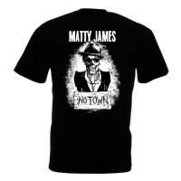 Matty James – 'The Road To No Town' T-shirt