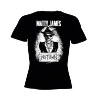 Matty James – 'The Road To No Town' Girls Skinny T-shirt
