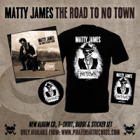 Matty James – 'The Road To No Town' Signed Album Set